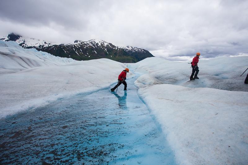 Crossing Glacial Streams