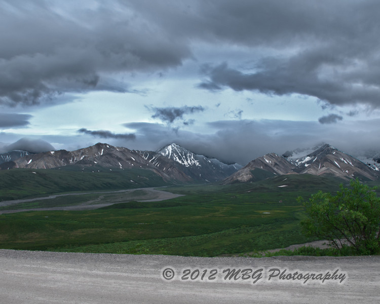 HDR of the Colorful Polychrome Pass.