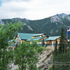 We were so lucky to get an upgrade on one of the lodges we stayed at. This is the Grande Denali Lodge located outside of the Denali park. Beautiful location and set nicely on a high ridge.