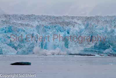 Hubbard Glacier AK 2011-2050