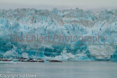 Hubbard Glacier AK 2011-1990