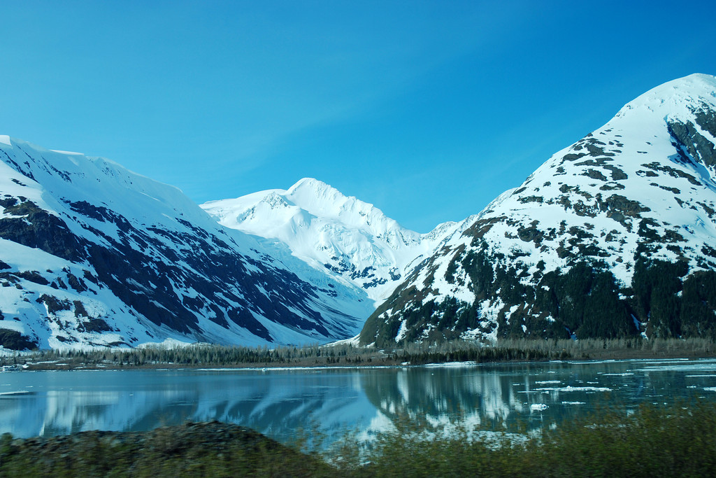 """Another """"Died and Gone to Heaven"""" view of the Alaskan mountains"""