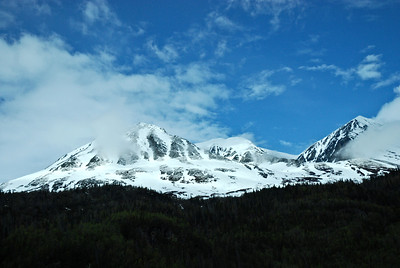 Thompson Pass, traveling to Valdez