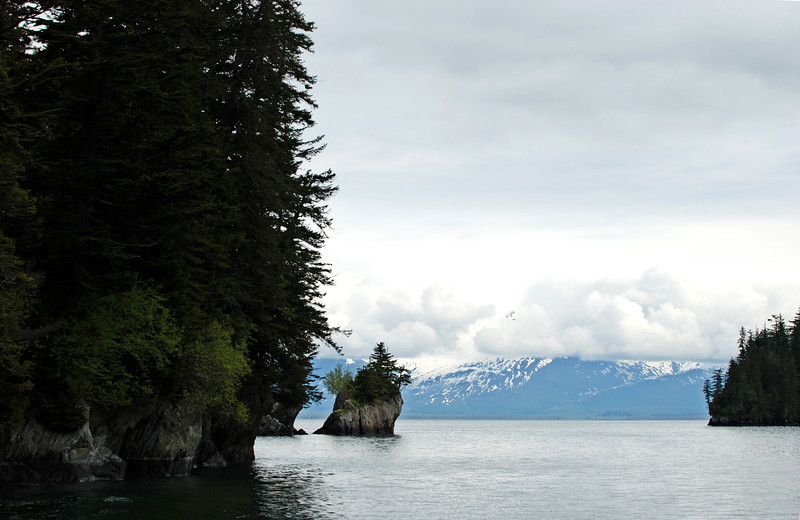 Rock formations in Prince William Sound