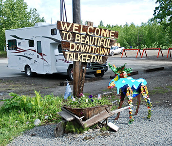 Beautiful Talkeetna, the town on which Northern Exposure was based.