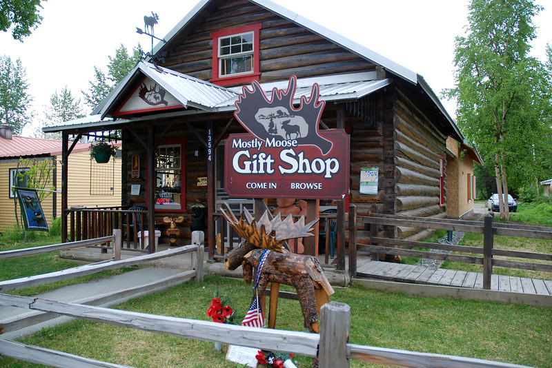 One of the unique gift shops in Talkeetna