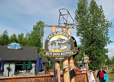 Sign in Talkeetna, Alaska