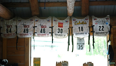 Iditarod vests worn by Jerry Sousa - Sun Dog Kennel