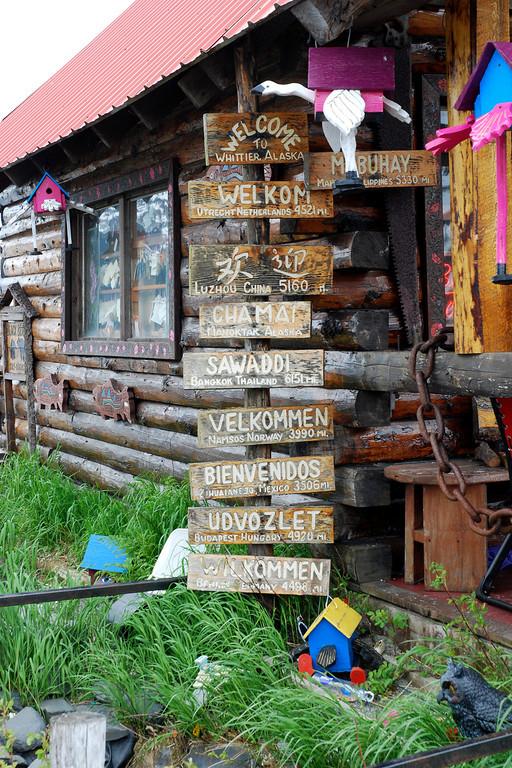 Whittier, Alaska - very quaint, little town