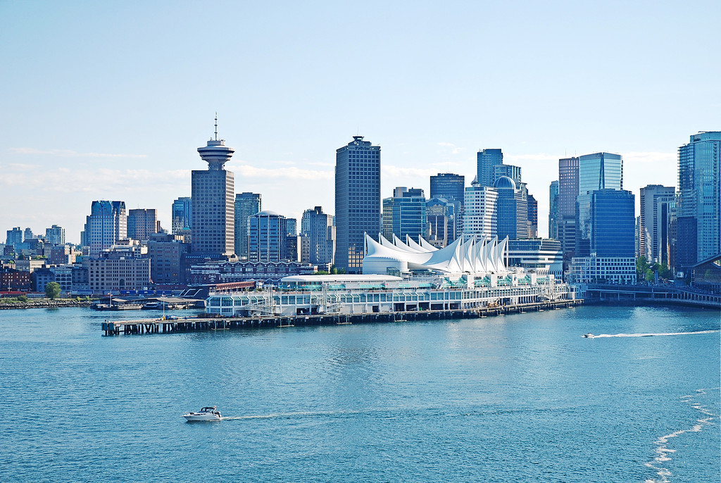 Vancouver - cruise liner terminal