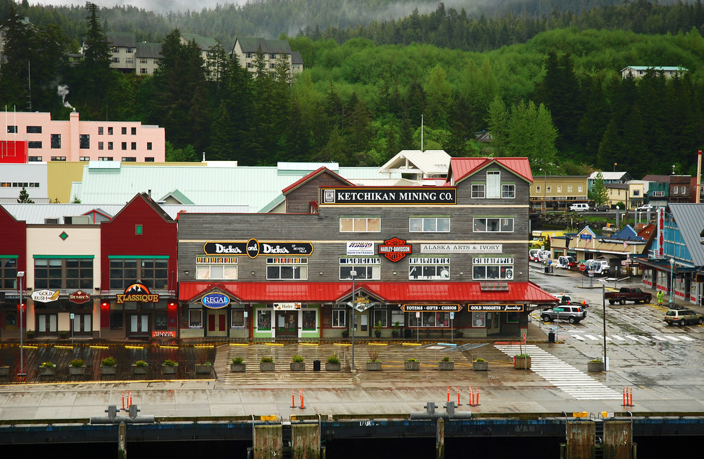 View of downtown Ketchikan