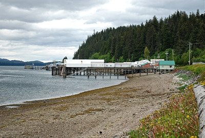 Coming into the Tlingit village of Hoonah, Chichagof Island