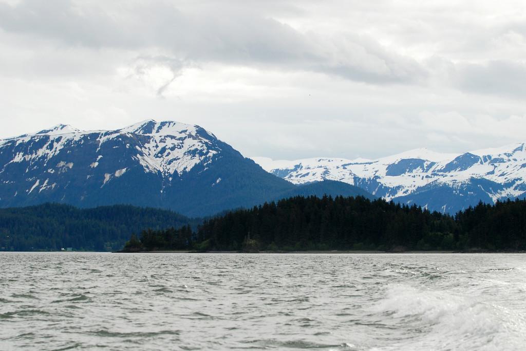 Leaving Juneau