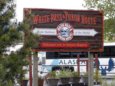 White Pass & Yukon Route narrow gauge train