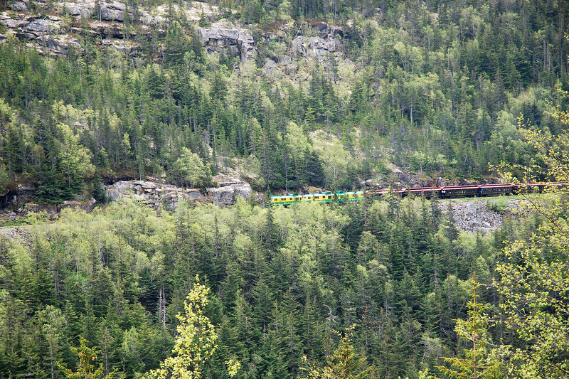 View of the narrow gauge railroad