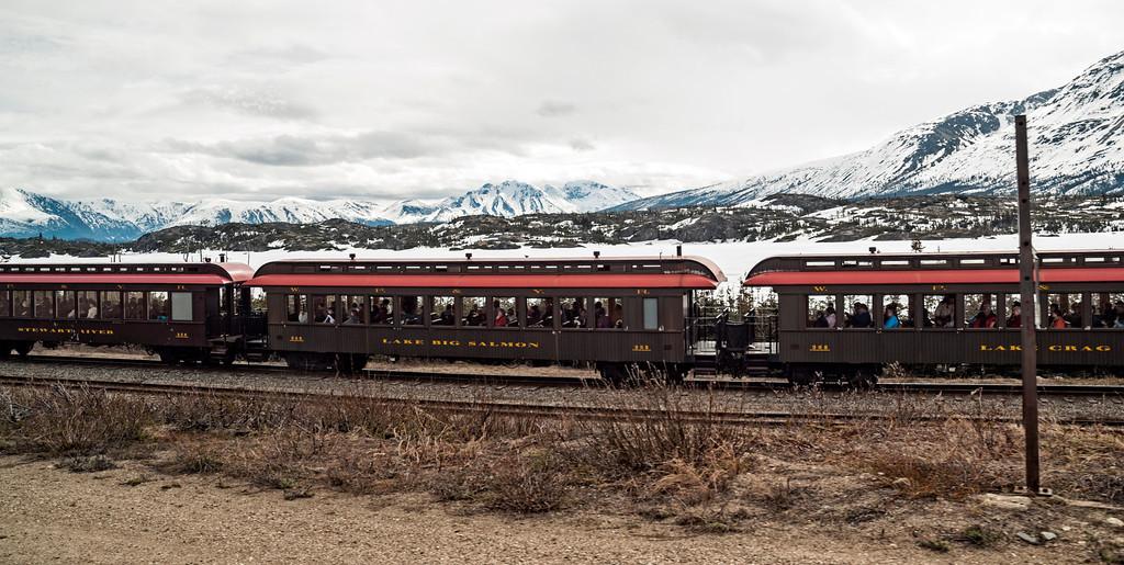 Sightseeing train ride