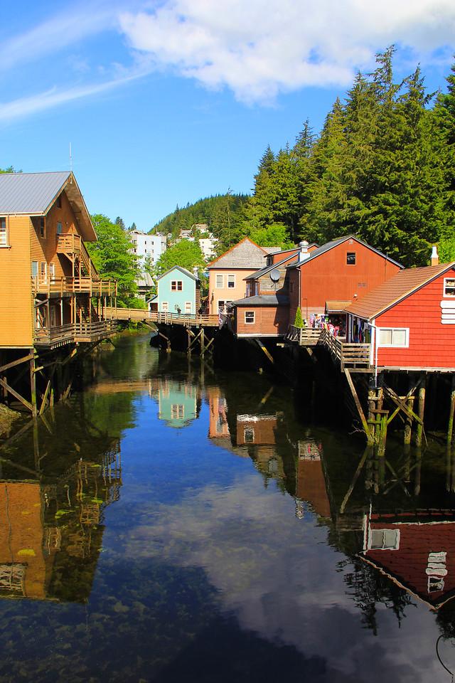 Creek Street - Ketchikan, Alaska