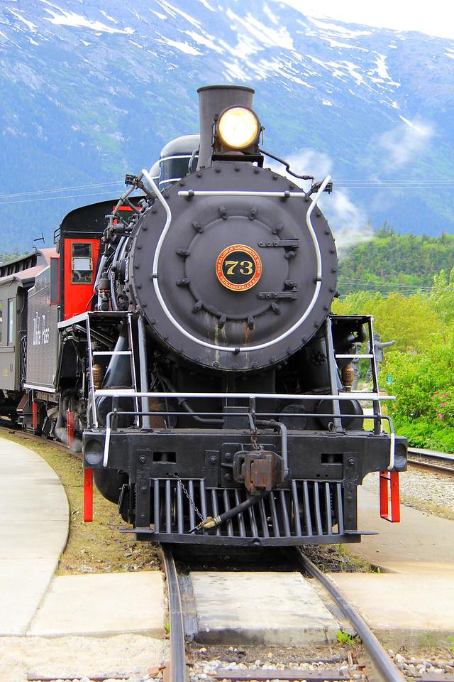 Steam Train - Skagway, Alaska