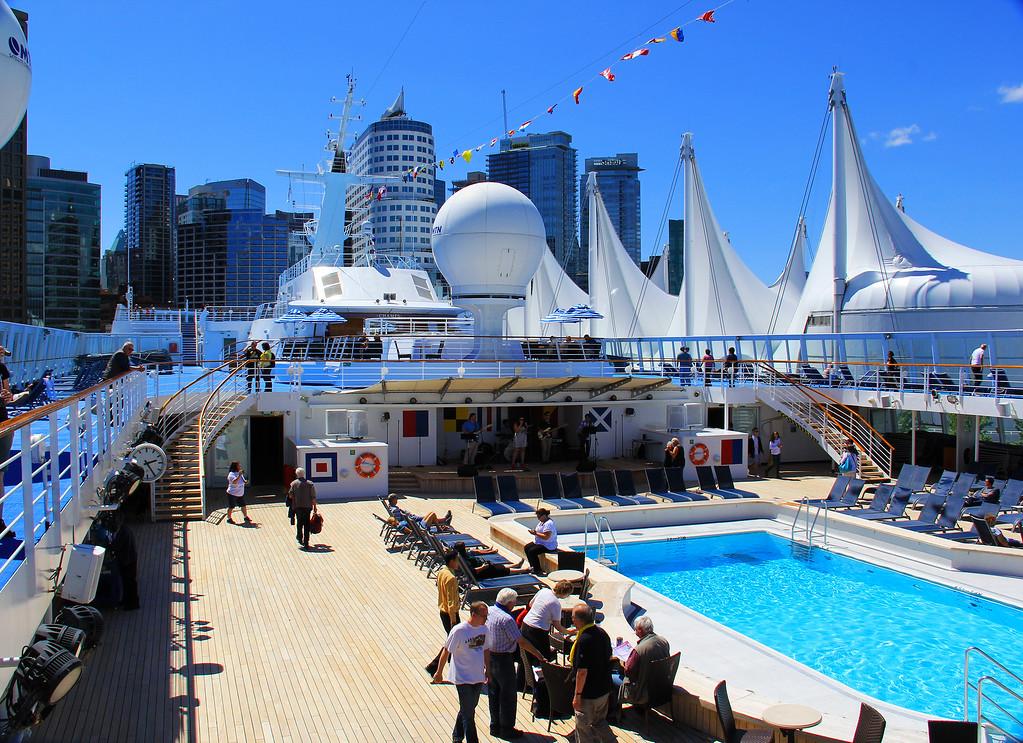 Norwegian Cruise To Alaska - Vancouver British Columbia