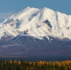Autumn view of Mt. Drum
