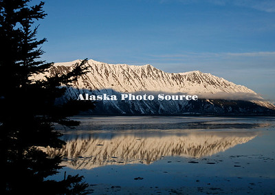 Cook Inlet Reflection in winter