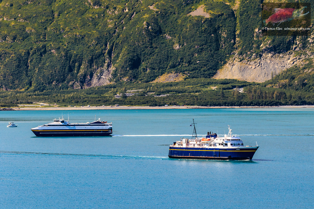 Old and new Alaska ferries