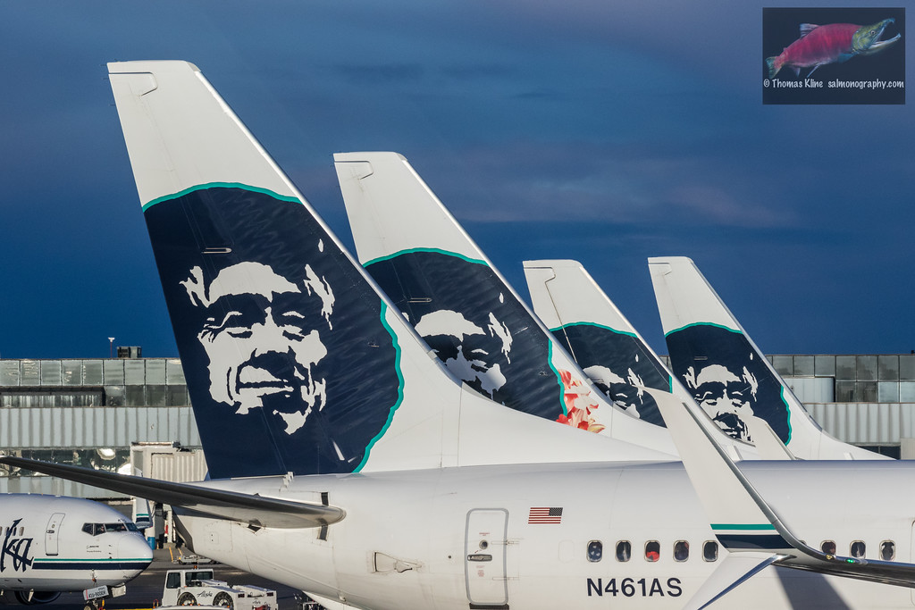 Alaska Airline Boeing 737s