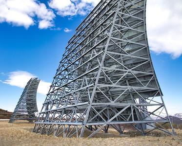 White Alice communications antennae