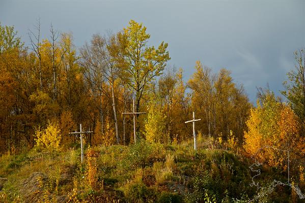Crosses, Palmer, Alaska