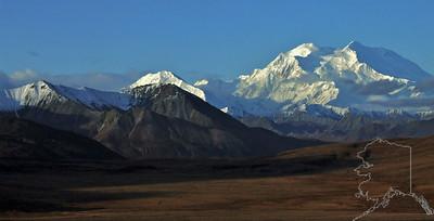 Denali National Park. Mt. McKinley.