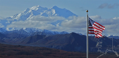 Denali National Park. Mt. McKinley.