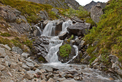 waterfalls at Independence mine in Hatcher Pass. It is about 20 min from my house.