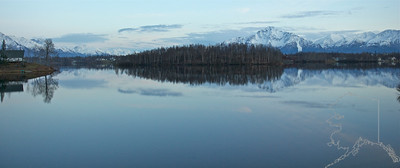 Finger Lake State Recreation Site is located at Mile 0.7 Bogard Road in Wasilla.
