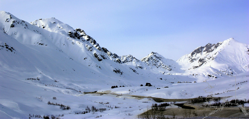 Hatcher Pass in the winter