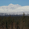 Mt. Mckinley viewed from the south side from the highway.
