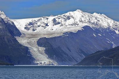 Whittier Alaska. Take the 26 glacier cruise. It will take you out into Prince William Sound.
