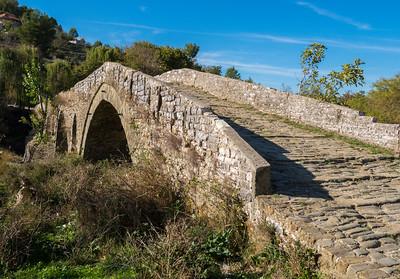 Albanian Landscape, Roman Bridge, Tepelene