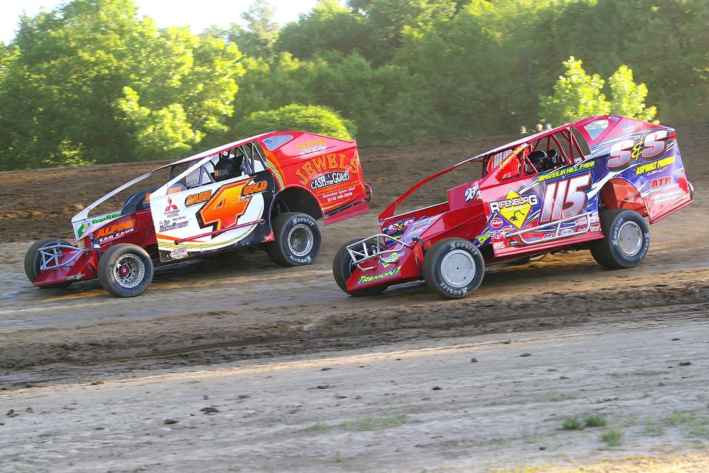 . Mod action Kenny Tremont #115 & Rich Ronca #4 - Photos courtesy Mark Brown/Ryan Karabin at Kustom Keepsakes. See more at https://nepart.smugmug.com