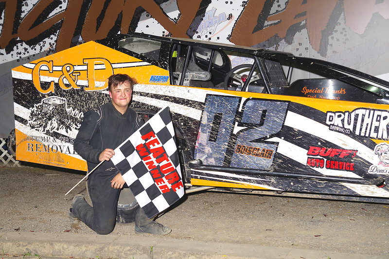 "Limited sportsman winner David Boisclair III #02 at Albany-Saratoga Speedway June 29, courtesy Kustom Keepsakes, Mark Brown and Ryan Karabin. For reprints and more,visit <a href=""https://nepart.smugmug.com"">https://nepart.smugmug.com</a>"
