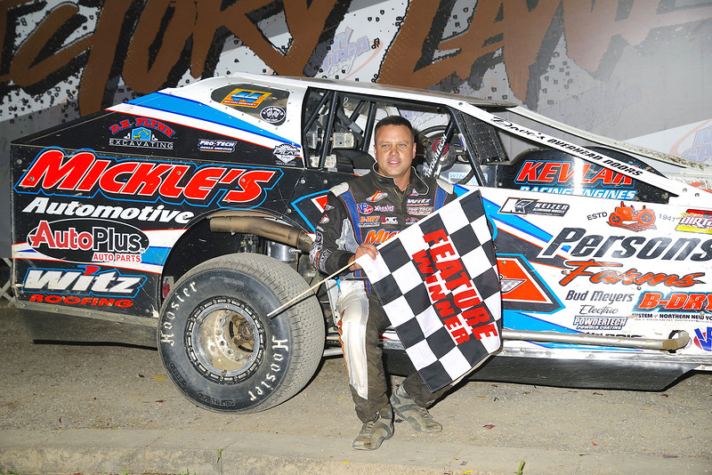 "Modified winner Ronnie Johnson #2RJ at Albany-Saratoga Speedway June 29, courtesy Kustom Keepsakes, Mark Brown and Ryan Karabin. For reprints and more,visit <a href=""https://nepart.smugmug.com"">https://nepart.smugmug.com</a>"