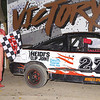"Single Cam 4 cylinder winner Johnny Bennett #27s at Albany-Saratoga Speedway June 29, courtesy Kustom Keepsakes, Mark Brown and Ryan Karabin. For reprints and more,visit <a href=""https://nepart.smugmug.com"">https://nepart.smugmug.com</a>"
