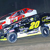 "Mod action Brett Hearn #20 & Jim Nagle #10 at Albany-Saratoga Speedway June 29, courtesy Kustom Keepsakes, Mark Brown and Ryan Karabin. For reprints and more,visit <a href=""https://nepart.smugmug.com"">https://nepart.smugmug.com</a>"