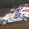 "Mod action Brian Gleason #3G & Ronnie Johnson #2RJ at Albany-Saratoga Speedway June 29, courtesy Kustom Keepsakes, Mark Brown and Ryan Karabin. For reprints and more,visit <a href=""https://nepart.smugmug.com"">https://nepart.smugmug.com</a>"