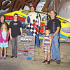 "Photos by Kustom Keepsakes Mark Brown/Ryan Karabin - Mark Hughes memorial Sportsman winner Joey Scarborough w/Hughes Family - For reprints visit <a href=""https://nepart.smugmug.com"">https://nepart.smugmug.com</a>"