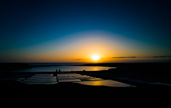 Las Salinas Sunset I