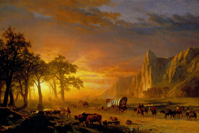 Emigrants Crossing the Plains