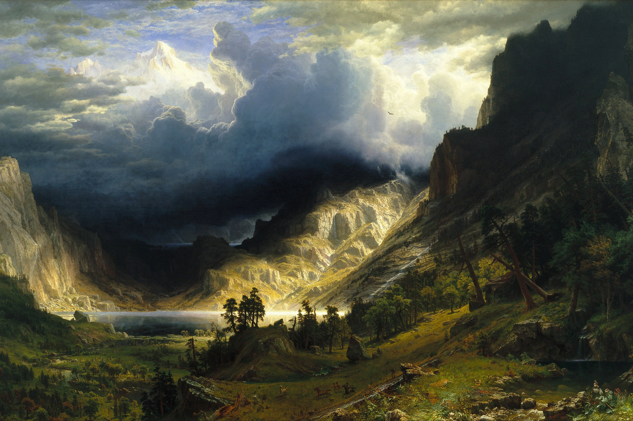 A Storm in the Rocky Mountains
