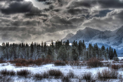 Alberta Rockies - Winter