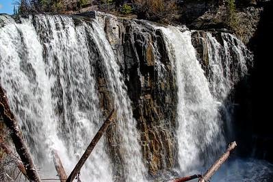 YaHa Tinda Valley - Big Horn Falls