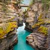 Athabasca Canyon, Jasper National Park, Alberta, Canada